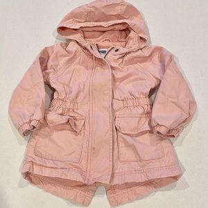 Toddler girl utility jacket Old Navy 2T